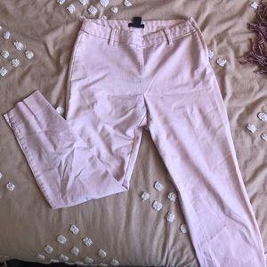 H&M: PINK CAPRI PANTS